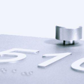 Aluminum ADA Signage