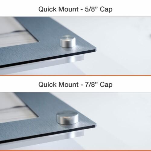 Quick Mount Easy Slide Frames