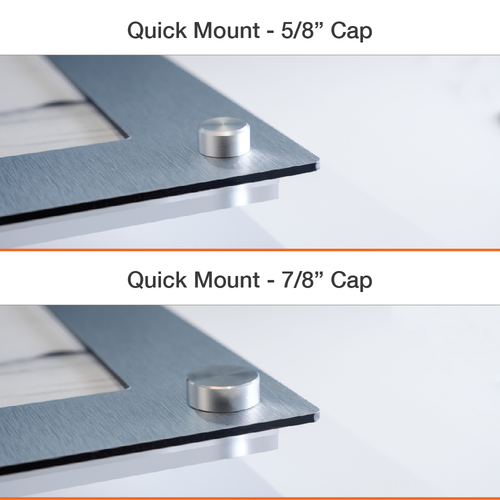 Quick Mount Easy Slide Frames