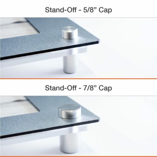 Stand-Off Easy Slide Frames