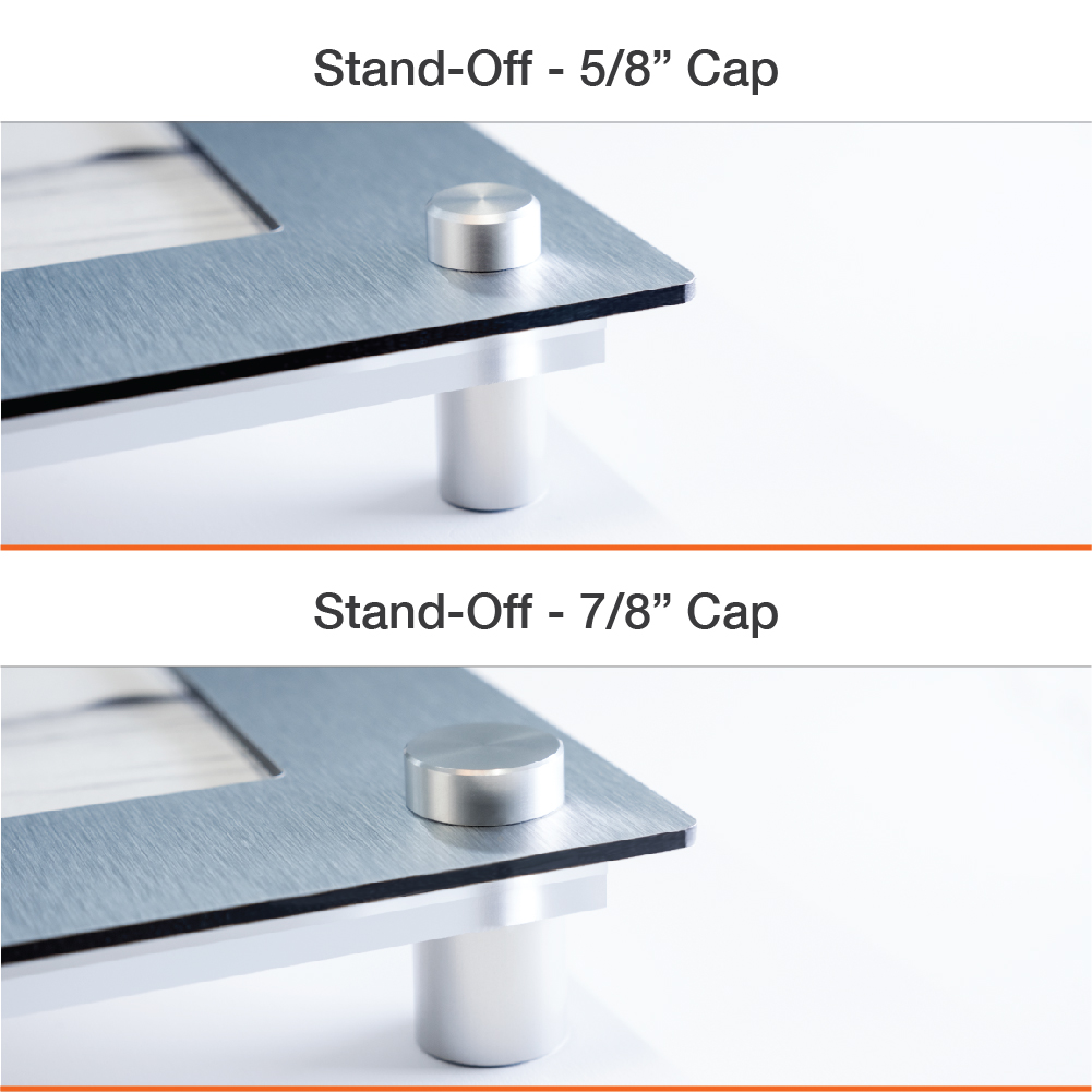 Stand-Off Easy Slide Frames
