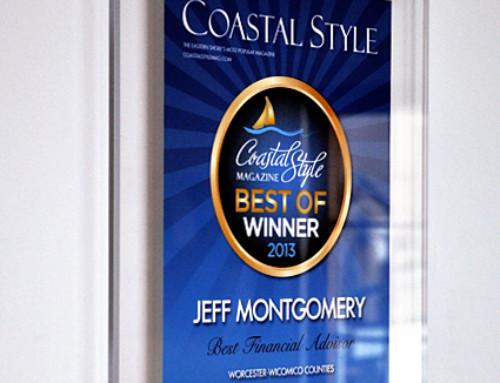 Coastal Style Magazine Award