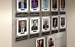 Army Hall Of Fame Wall Display