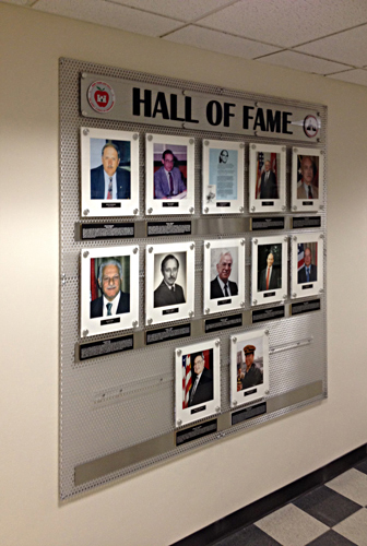 Army Hall Of Fame Wall Display