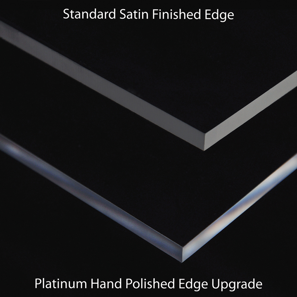 Acrylic Picture Frame Edge Finish