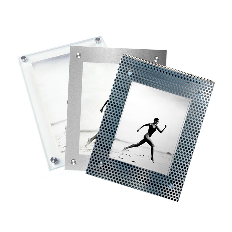 Acrylic and Metal Picture Frames